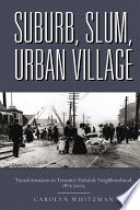 Suburb Slum Urban Village