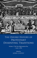 The Oxford History of Protestant Dissenting Traditions, Volume I Pdf/ePub eBook