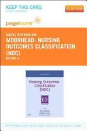 Nursing Outcomes Classification  NOC  Passcode