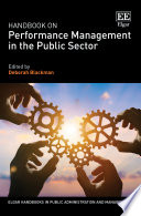 Handbook on Performance Management in the Public Sector