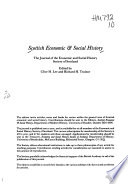 Scottish Economic & Social History