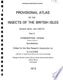 Provisional Atlas of the Insects of the British Isles: Hymenoptera-Apidae, bumblebees