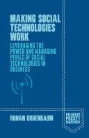 Making Social Technologies Work