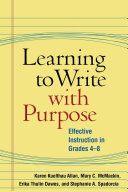 Learning to Write with Purpose [Pdf/ePub] eBook