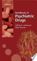 Handbook of Psychiatric Drugs Book