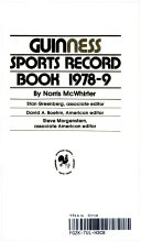 Guinness Sports Record Book  1978 9