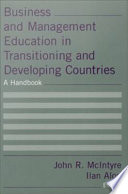 Business and Management Education in Transitioning and Developing Countries