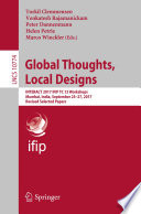 Global Thoughts  Local Designs Book