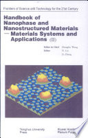 Handbook Of Nanophase And Nanostructured Materials Materials Systems And Applications Ii Book PDF