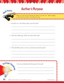 Read & Succeed Comprehension Level 5: Author's Purpose Passages and Questions