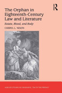 Pdf The Orphan in Eighteenth-Century Law and Literature Telecharger
