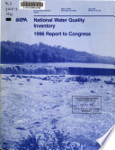 National Water Quality Inventory