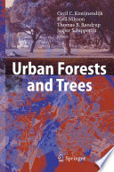 Urban Forests And Trees Book PDF