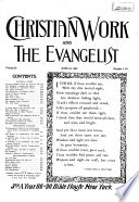 """The Christian Work and the Evangelist"""