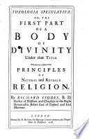 Theologia Speculativa Book PDF