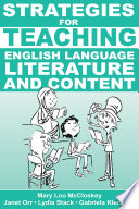 Strategies for Teaching English Language  Literature  and Content Book