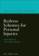 Redress Schemes for Personal Injuries Pdf/ePub eBook