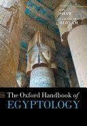 The Oxford Handbook of Egyptology
