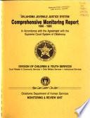 Oklahoma Juvenile Justice System Comprehensive Monitoring Report