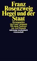 Hegel und der Staat