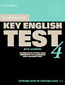 Cambridge Key English Test 4  Self Study Pack  Student s Book with Answers  With Audio CD  New Edition