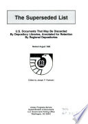 The Superseded List