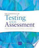 Essentials Of Testing And Assessment A Practical Guide For Counselors Social Workers And Psychologists Book PDF