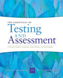 Essentials of Testing and Assessment  A Practical Guide for Counselors  Social Workers  and Psychologists