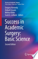 Success in Academic Surgery  Basic Science Book