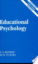 """Educational Psychology"" by D. N. Tutoo"