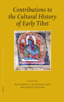 Contributions to the Cultural History of Early Tibet