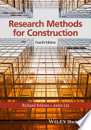 Research Methods for Construction Book