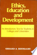 Ethics, Education, and Development  : An Introductory Text for Students in African Colleges and Universities