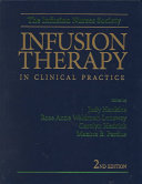Infusion Therapy in Clinical Practice Book