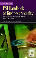 PSI Handbook of Business Security  Securing people and processes Book