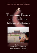 Tourism  Power and Culture