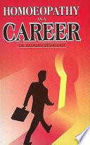 Homoeopathy As a Career