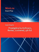 Exam Prep for Prealgebra by Aufmann  Barker  Lockwwd  4th Ed