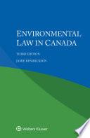 Environmental Law in Canada