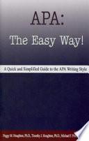 APA-- the easy way!