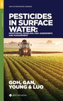 Pesticides In Surface Water Book PDF