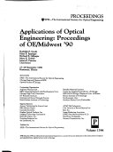Applications of Optical Engineering