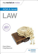 My Revision Notes  AQA A level Law