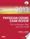 Physician Coding Exam Review 2013 E Book
