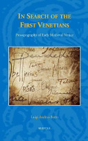In Search of the First Venetians Book
