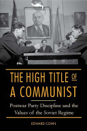 The High Title of a Communist