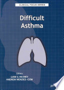 Clinical Focus Series Difficult Asthma Book PDF