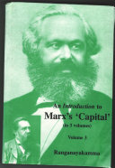 An Introduction to Marx   s    Capital