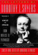 The Letters of Dorothy L  Sayers Vol II