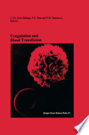 Coagulation and Blood Transfusion Book